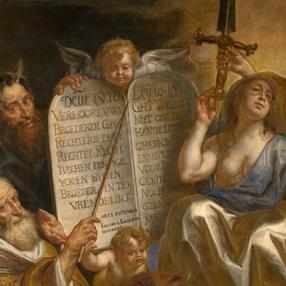 Jacob Jordaens, De goddelijke wet als grondslag voor de menselijke gerechtigheid, 1665, Oil on canvas, Royal Museum of Fine Arts Antwerp, Inventory No. 220