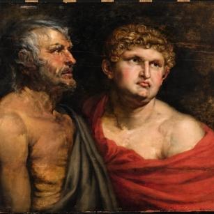 P.P. Rubens, Seneca en Nero. Privécollectie.