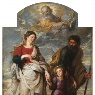 P.P. Rubens, The Return of the Holy Family from Jerusalem, Church of St Charles Borromeo. © KIK-IRPA, Brussels