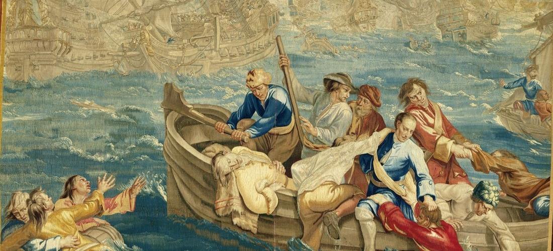 Zeeslag_Josse_de_Vos_ca1715_ca1734_Rijksmuseum