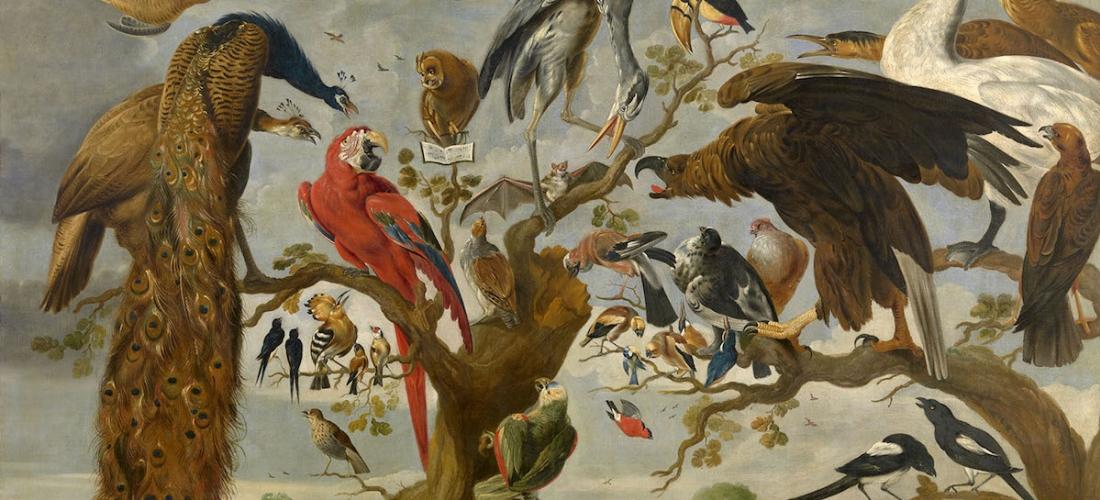 Toegeschreven aan Paul de Vos, Vogelconcert, Koninklijk Museum voor Schone Kunsten Antwerpen