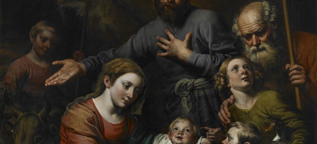 Theodoor Van Loon, Aanbidding van de herders, Koninklijke Musea voor Schone Kunsten van België (KMSKB)