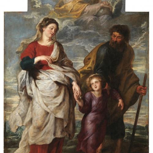 P.P. Rubens, The Return of the Holy Family from Jerusalem, Church of St Charles Borromeo. © KIK-IRPA, Brussels